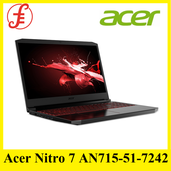 Acer Nitro 7 AN715-51-7242 NEW gaming laptop with 9th Gen Intel Core i7-9750H processor