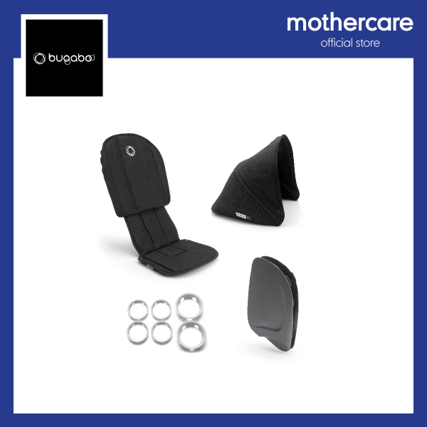 Bugaboo Ant Style Set Complete Black-Black Singapore