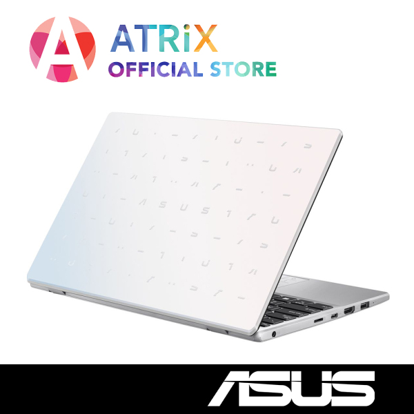 [RE-STOCK]New 2020 ASUS Vivobook E210MA | PINK WHITE | Free Office365 & AntiVirus | Intel Celeron N4020 | 4GB RAM | 64GB eMMC | 1Y ASUS Warranty