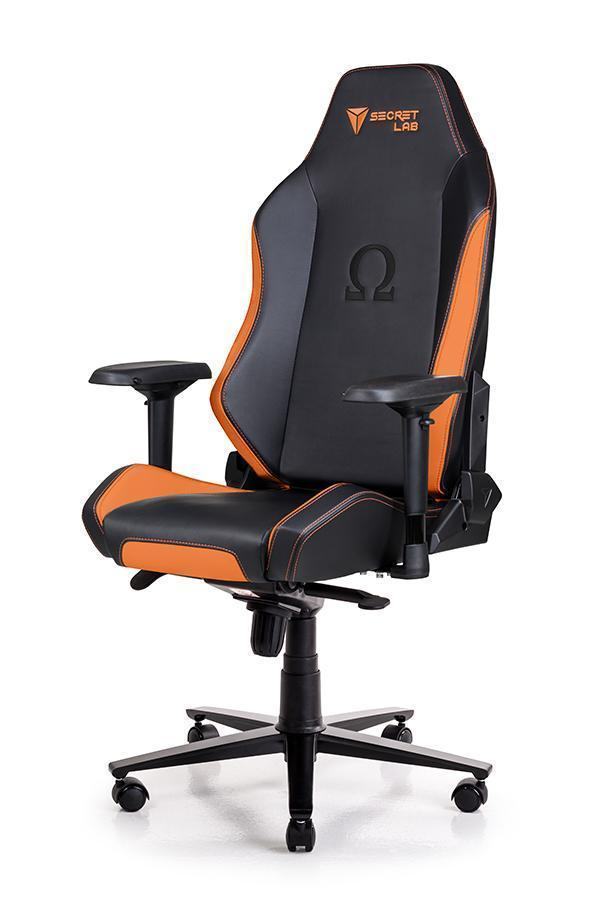Secretlab OMEGA 2018 Series PRIME PU Leather Gaming Chair - Amber