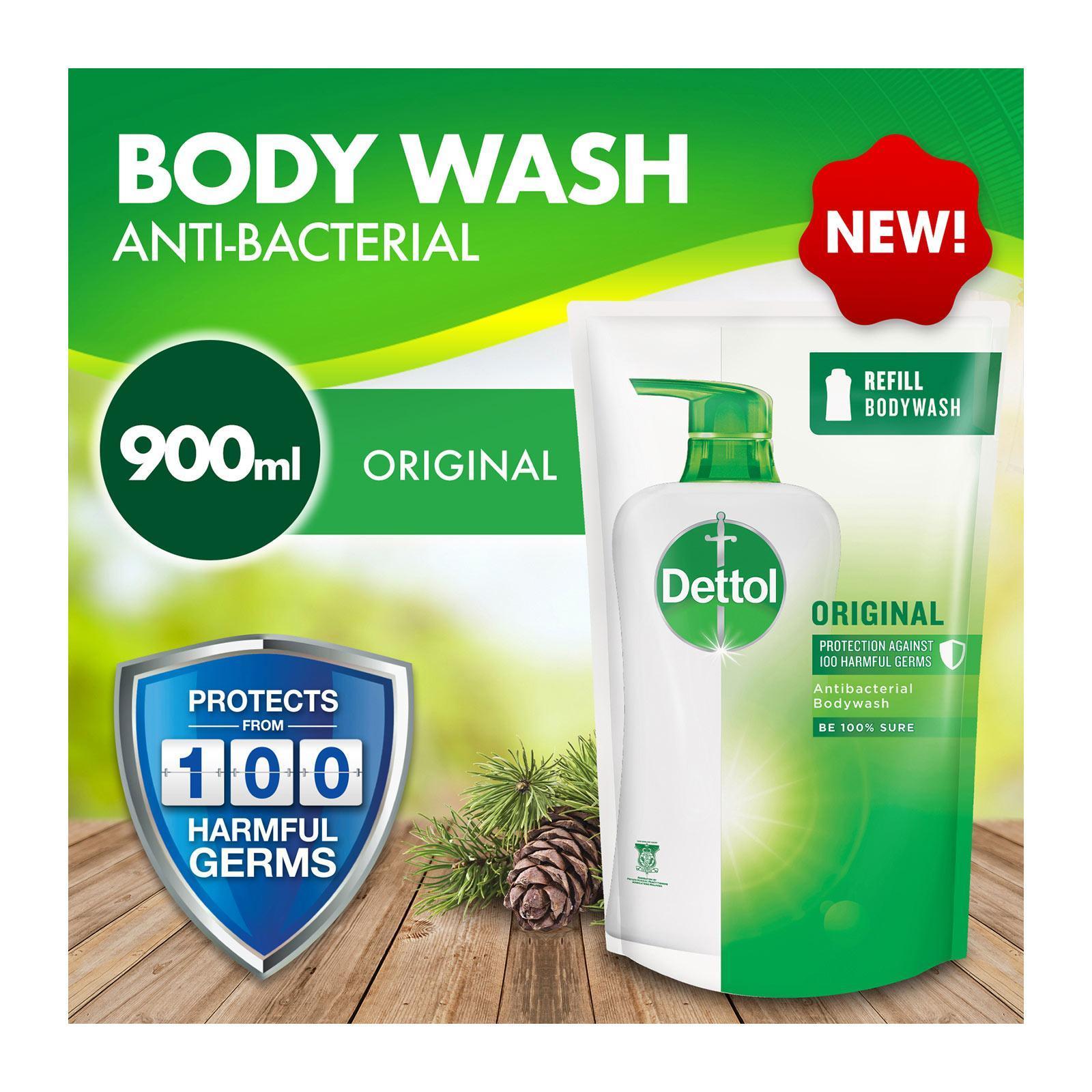 Dettol Anti-Bacterial pH-Balanced Body Wash Refill - Skincare