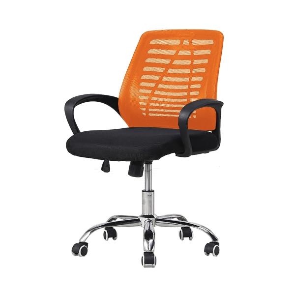 [FurnitureMartSG] Wisteria Office Chair in Orange_FREE DELIVERY + FREE INSTALLATION