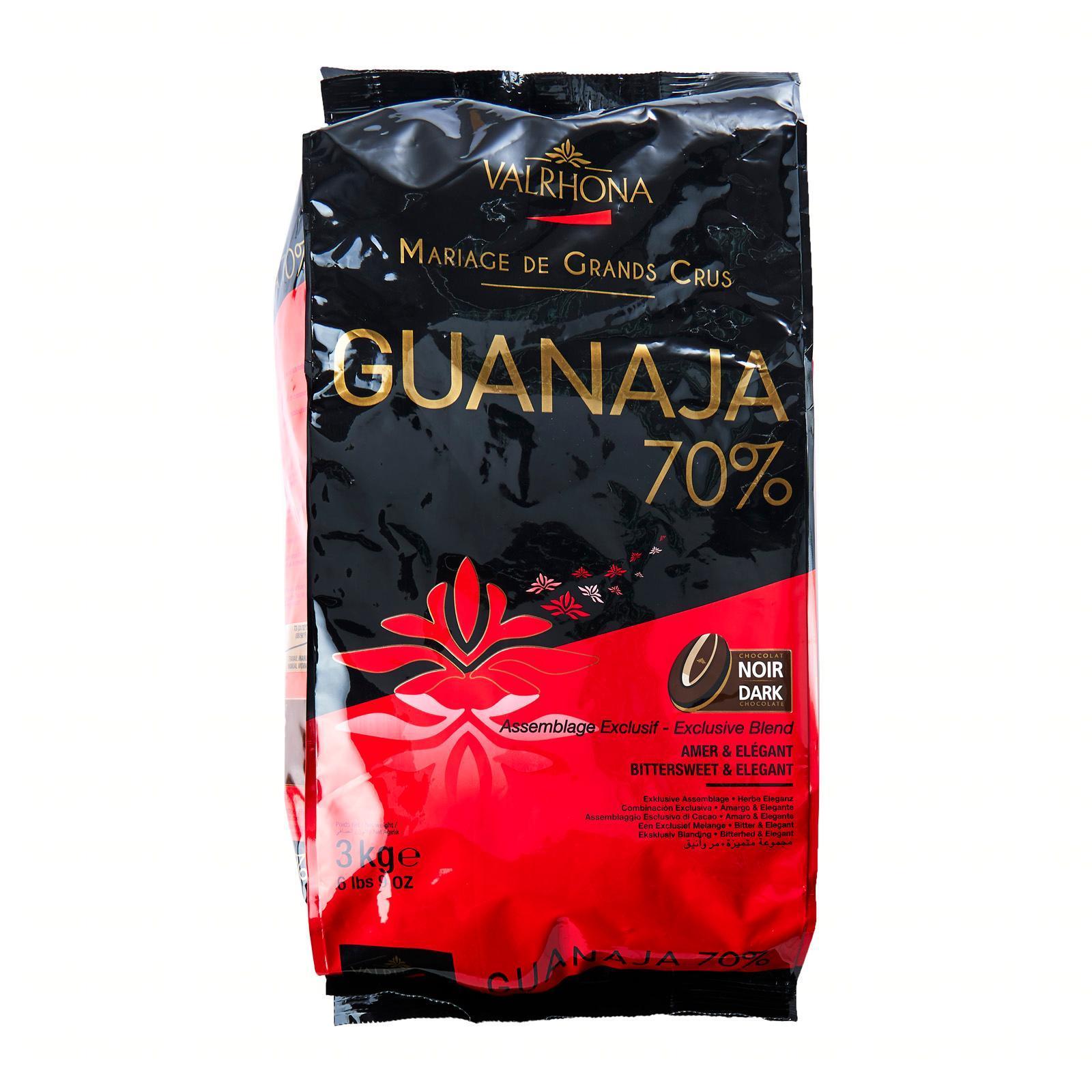 Valrhona Feve Guanaja Dark 70 - percent Cocoa