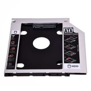 SATA 2nd Hard Disk Drive HDD Caddy Adapter for ThinkPad T400 T410 T500 R400 R500 thumbnail