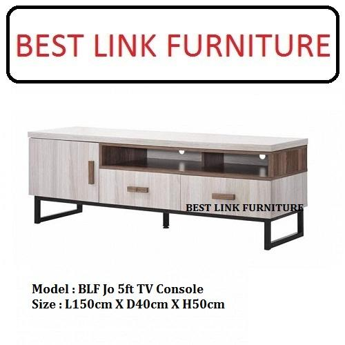 BEST LINK FURNITURE BLF Jo 5ft TV Console