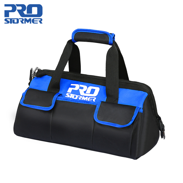 PROSTORMER Waterproof 600D  Electrician Tool Bag Fixed Tool Bag  Working At Height Multifunction Professional Maintenance