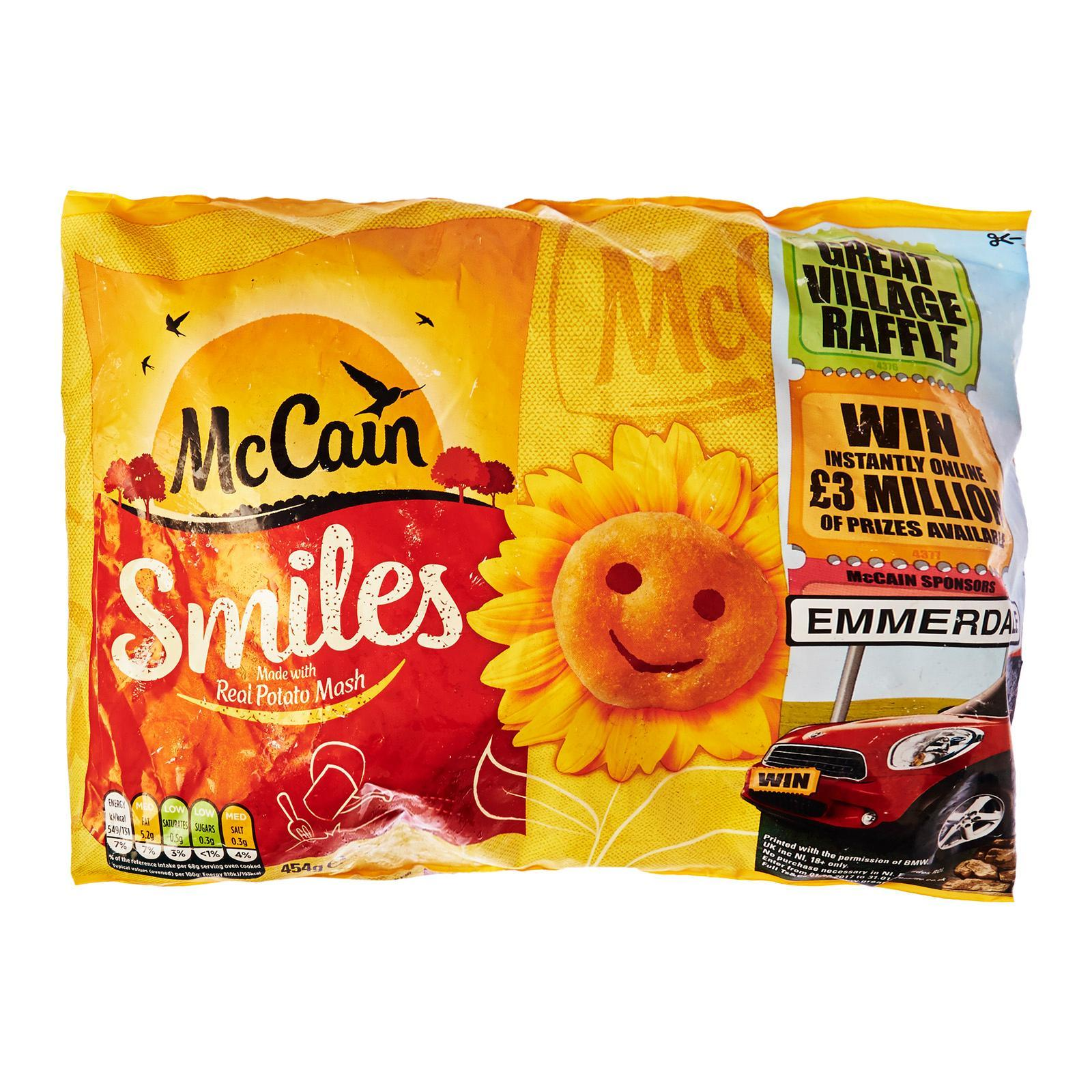 McCain Potato Smiles - Frozen
