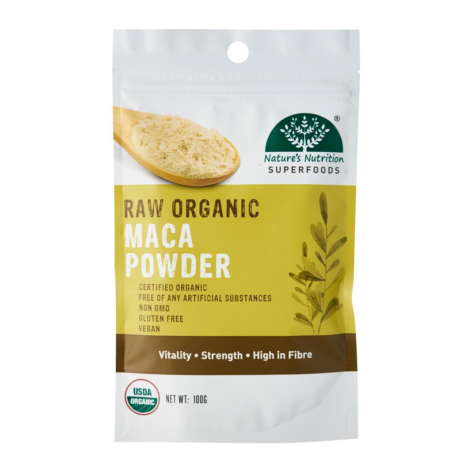 Nature's Superfoods Organic Raw Maca Powder
