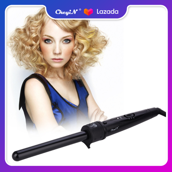 Buy CkeyiN Professional 19mm Tourmaline Ceramic Curling Iron Hair Curler Fashion Curly Hair Curling Wand Temperature Control Hair Styling Tool HS002HB Singapore