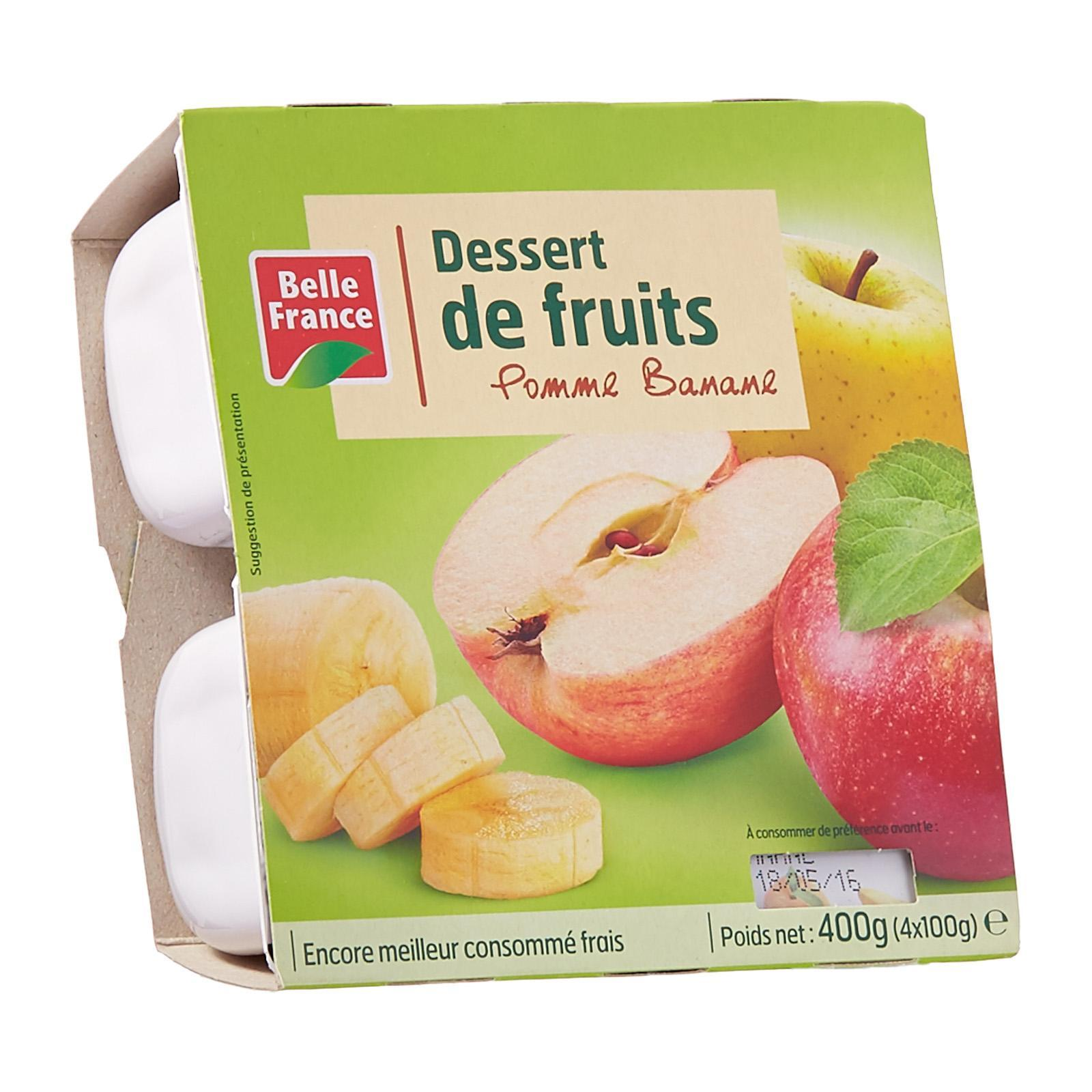 Belle France Apple And Banana Compote - By Le Petit Depot