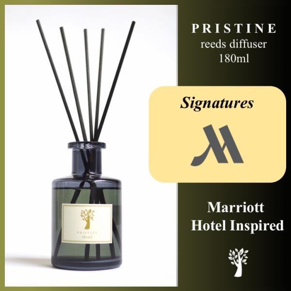 Pristine Reed Diffuser - Marriott - Signature Scent - 180ml