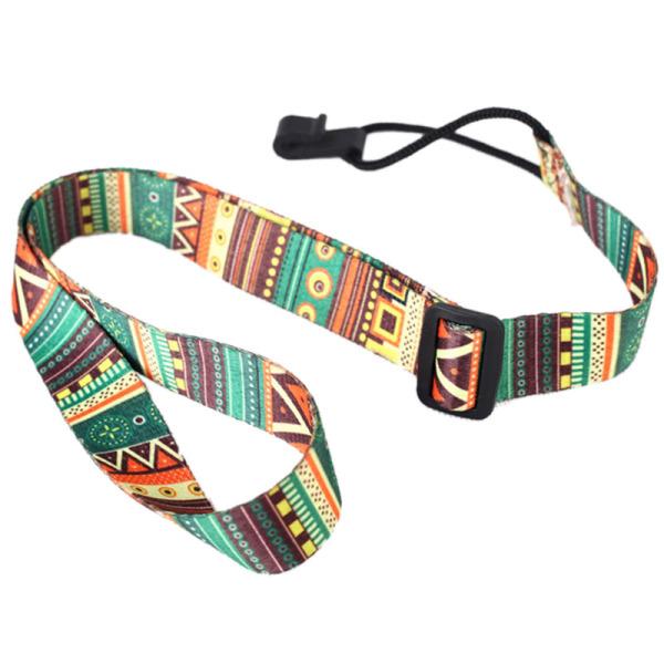 Adjustable Soft Polyester Guitar Ukulele Guitar Acoustic Bass Shoulder Strap Belt Band Hook Strap Malaysia