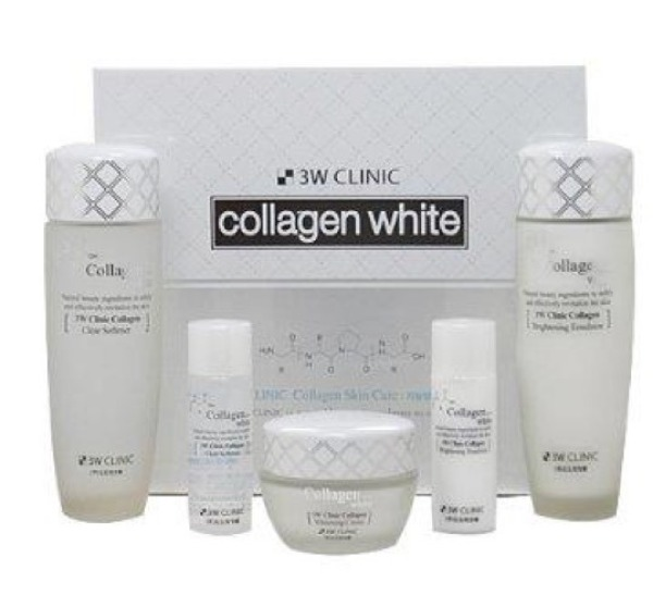 Buy 3W Clinic Collagen White Skin Care Set (5 Item) Singapore