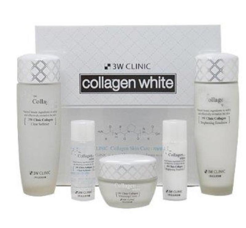 Buy 3W Clinic Collagen White Skin Care Set (5 Item) Singapore