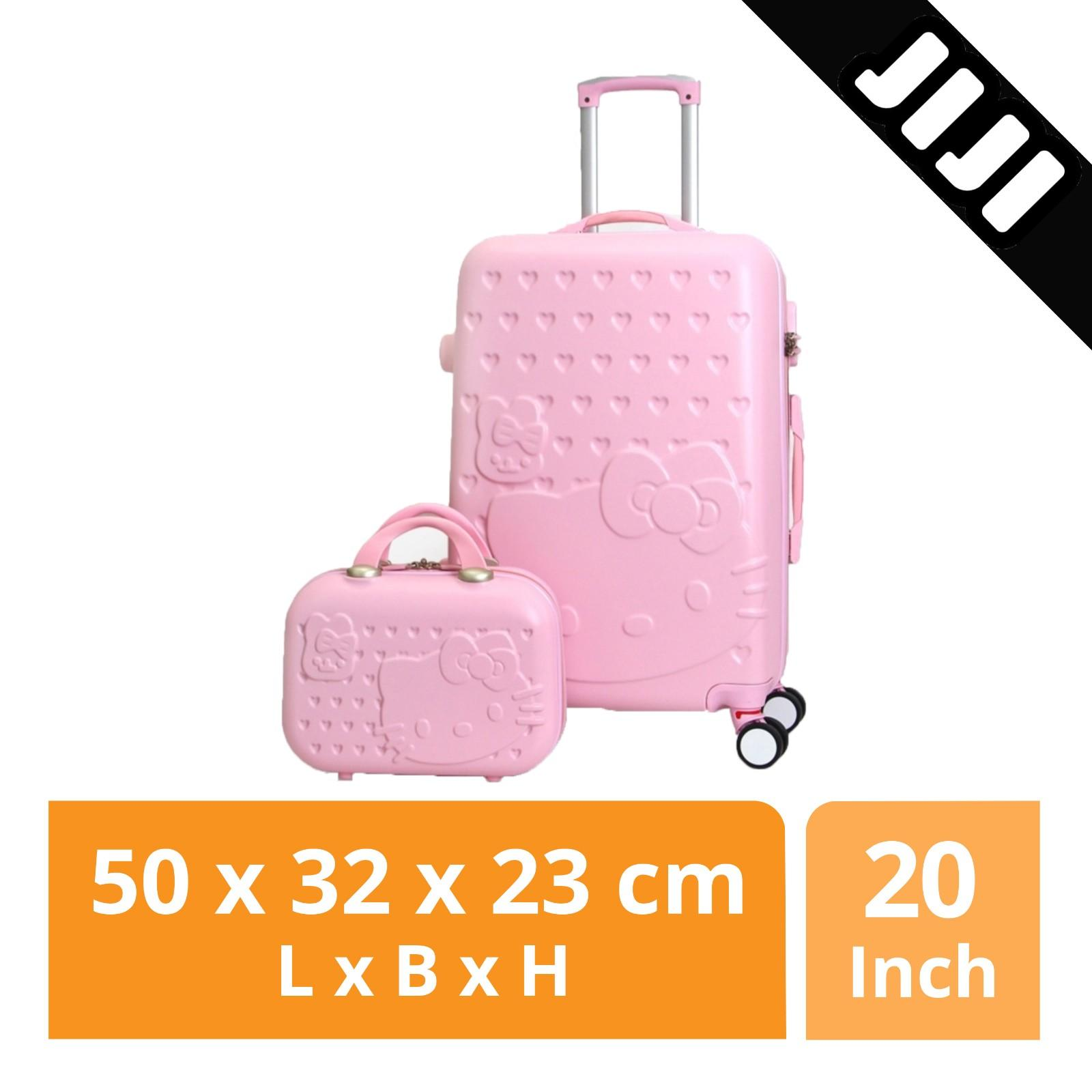 a904914b99cc JIJI Hello Kitty Luggage with Suitcase 20 24 inch - Travel Bags   Refined