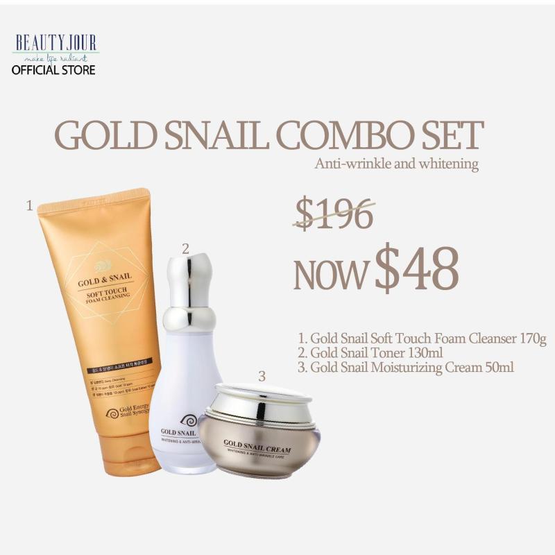 Buy Gold Snail Combo Set Singapore