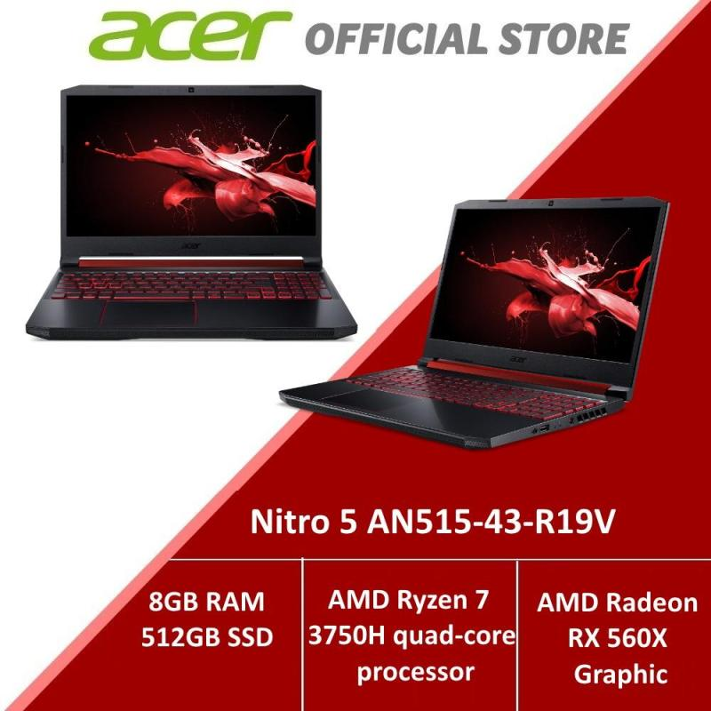 Acer Nitro 5 AN515-43-R19V NEW Gaming laptop with AMD Ryzen 7 processor and RX 560X Graphics