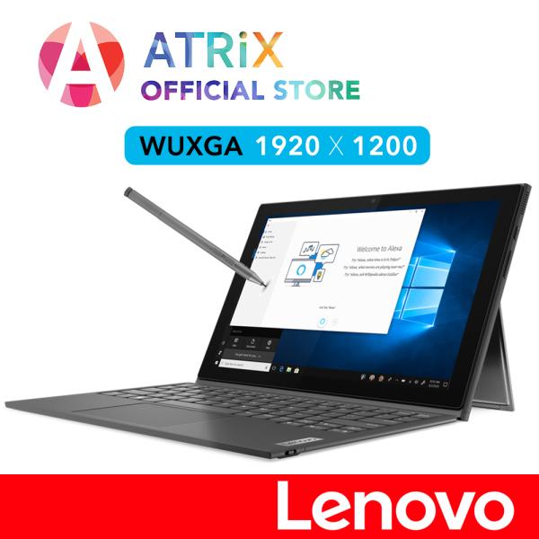 Lenovo IdeaPad Duet 3 series 2-1 detachable Notebook | 10.3inch WUXGA (1920x1200) IPS 340nits Touch Screen | Intel Celeron N4020 | 4GB RAM | Free Pen and Keyboard | Win10 Pro-64 bit