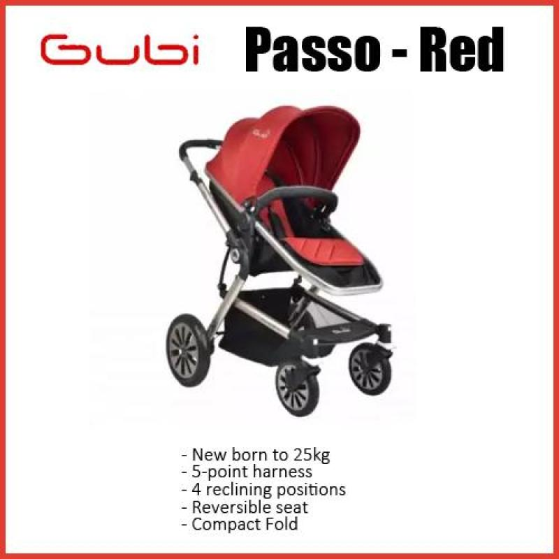 Gubi Passo★New born to 25kg★5-point harness★4 reclining positions★Reversible seat★Compact Fold Singapore