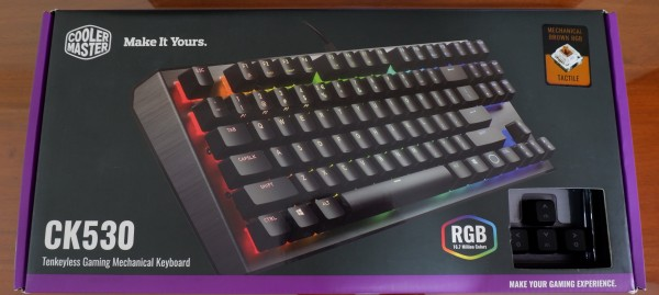 Cooler Master CK530 TKL RGB Mechanical Gaming Keybaord (Gateron Blue Switch/Gateron Brown Switch/Gateron Red Switch) Singapore