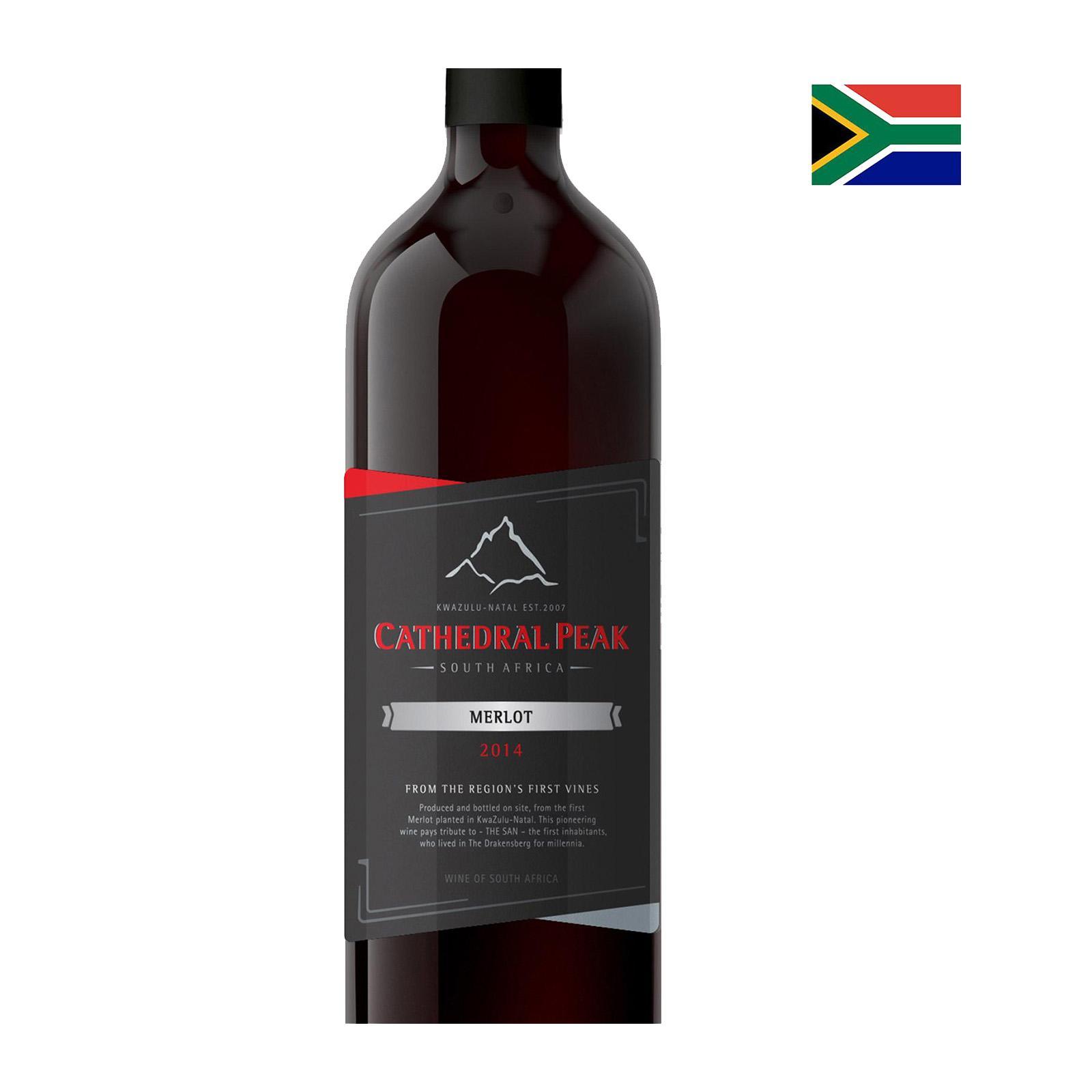 Cathedral Peak Estate Wines Merlot