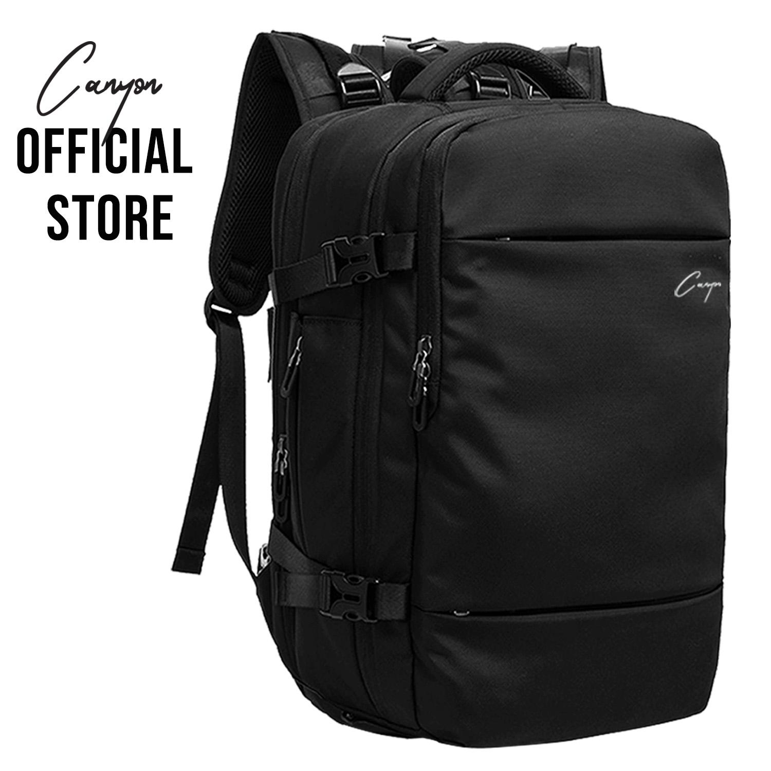 (Lazada Exclusive) Rogue Urban Series by Canyon Black Mens Travel Black Bag 45L