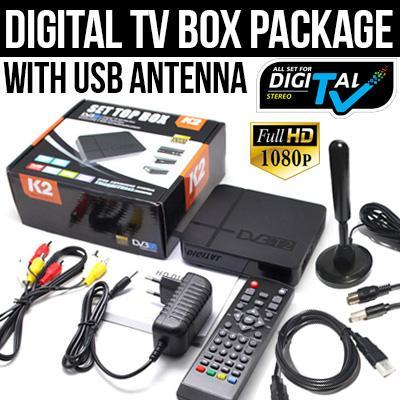 Dvb-T2 Digital Tv Box Singapore Receiver By Yeahbox.