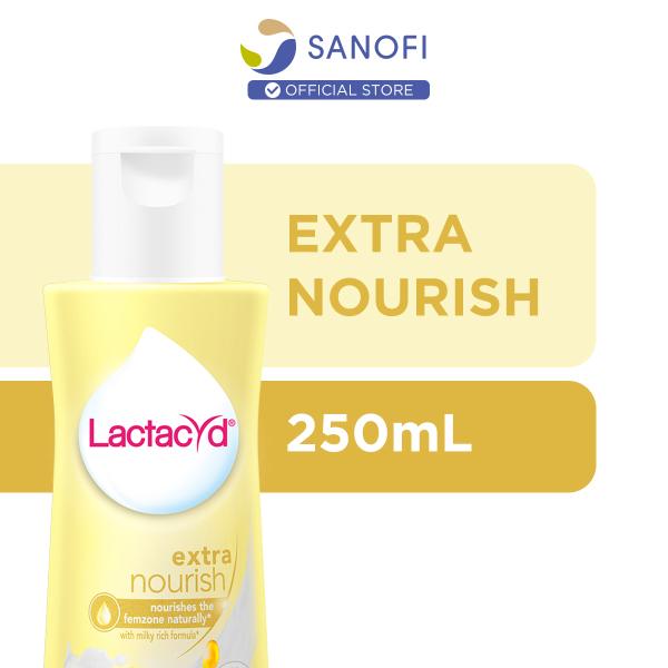 Buy Lactacyd Feminine Wash Extra Nourish for Extra Moisturising 250ml Singapore