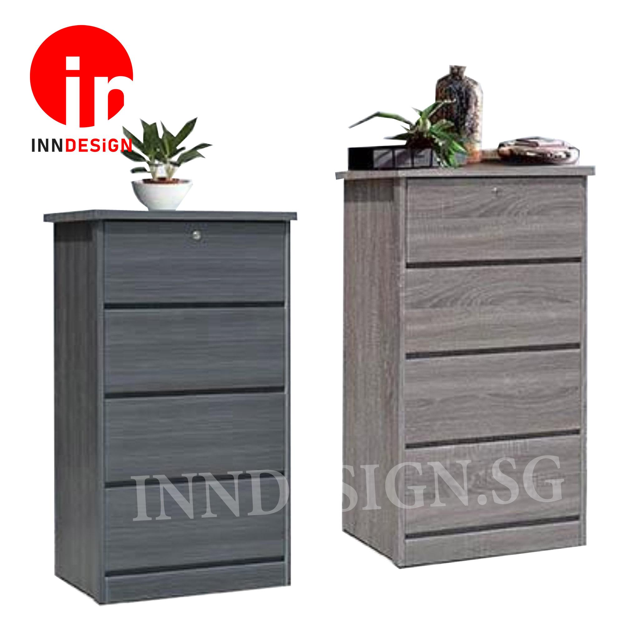 Katherine II New Series Chest of Drawers With Lock (Free Delivery and Installation)