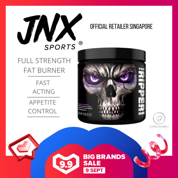 Buy JNX Sports, The Ripper, Fat Burning Pre Workout, 5.3 oz (150 g) 30 Servings Singapore