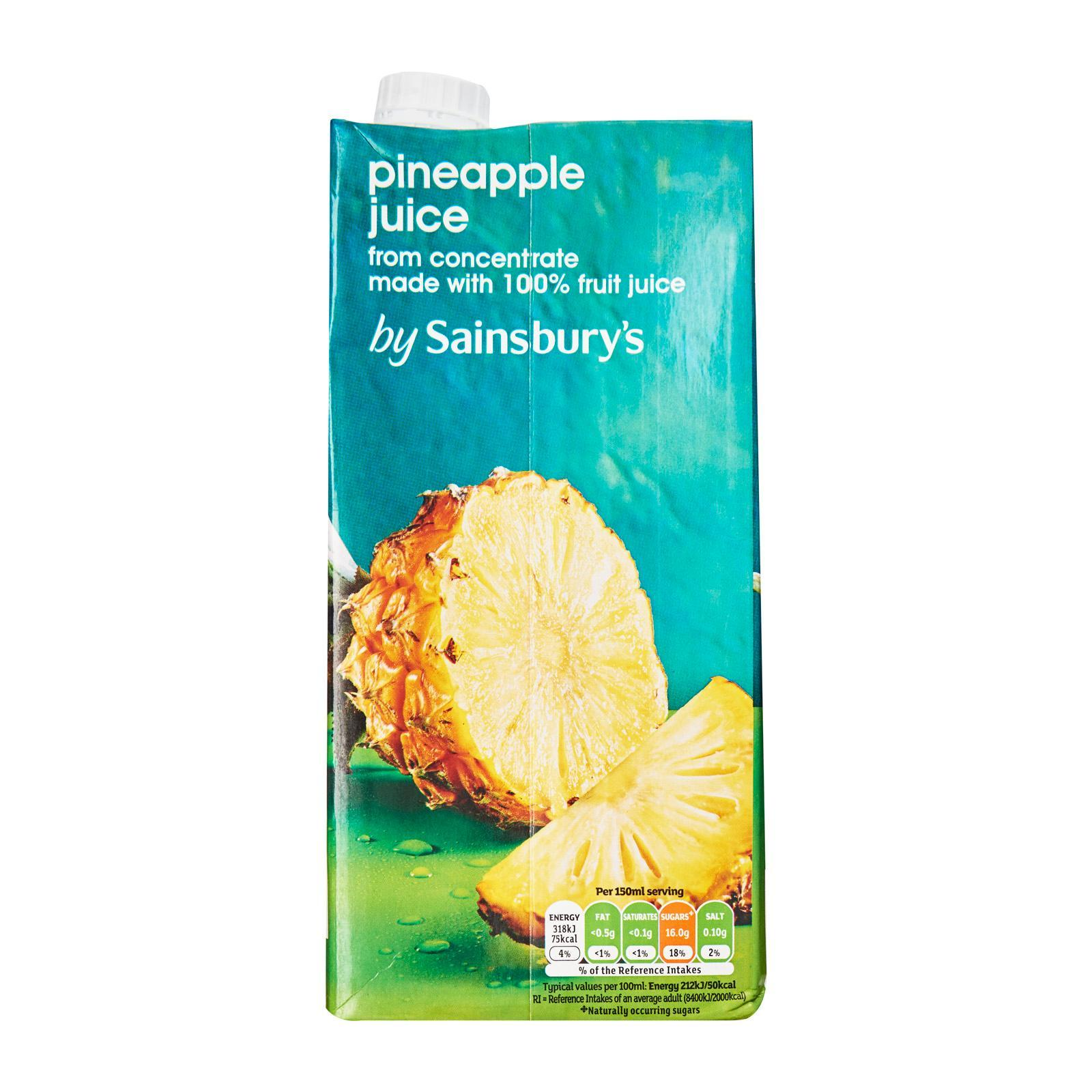 Sainsbury's Pineapple Juice From Concentrate