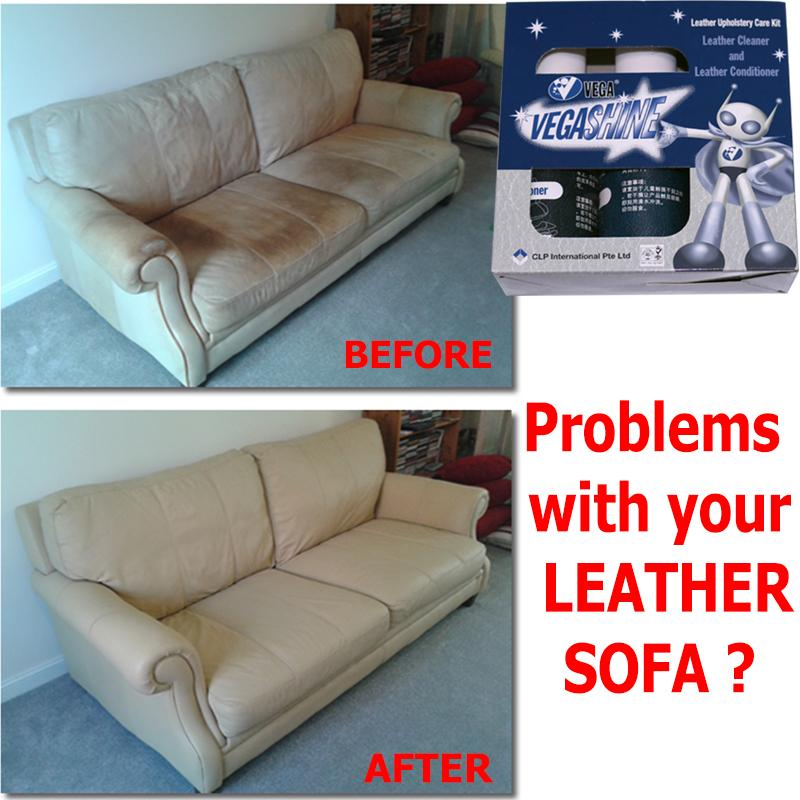 Leather Sofa Cleaner and Leather Conditioner Leather Sofa Stain Remover  Leather Care Kit