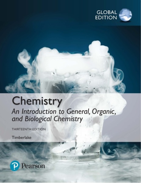 Chemistry: An Introduction to General, Organic, and Biological Chemistry, Global Edition   Edition 13   9781292228952   eBook of 9781292228860   Access code