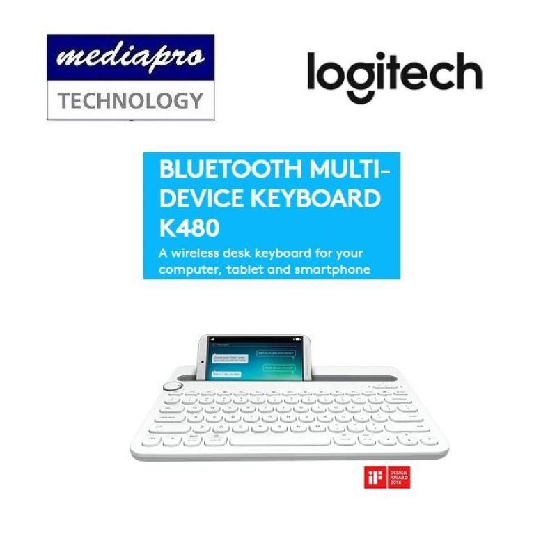 Logitech K480 Bluetooth Multi-device Keyboard - 1 year local warranty by Logitech SG Singapore