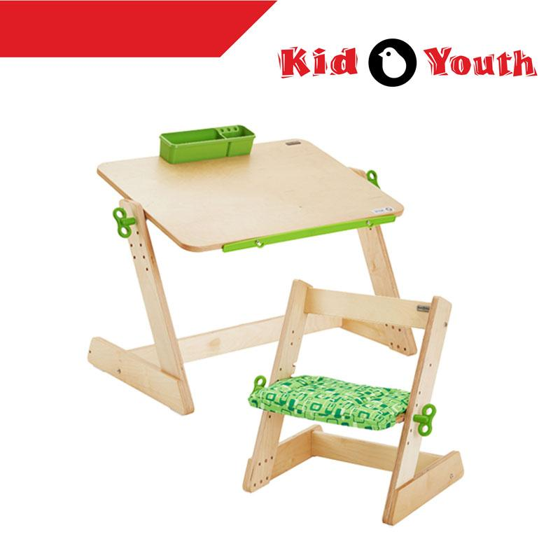 QMOMO Kid2Youth Toddler Play Table And MINIMO Chair Set