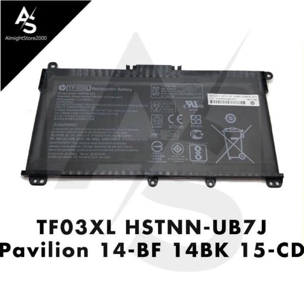 HP Pavilion 14-BF BK 15-CC CD CK TF03XL HSTNN-UB7J TPN-Q190 replace laptop battery