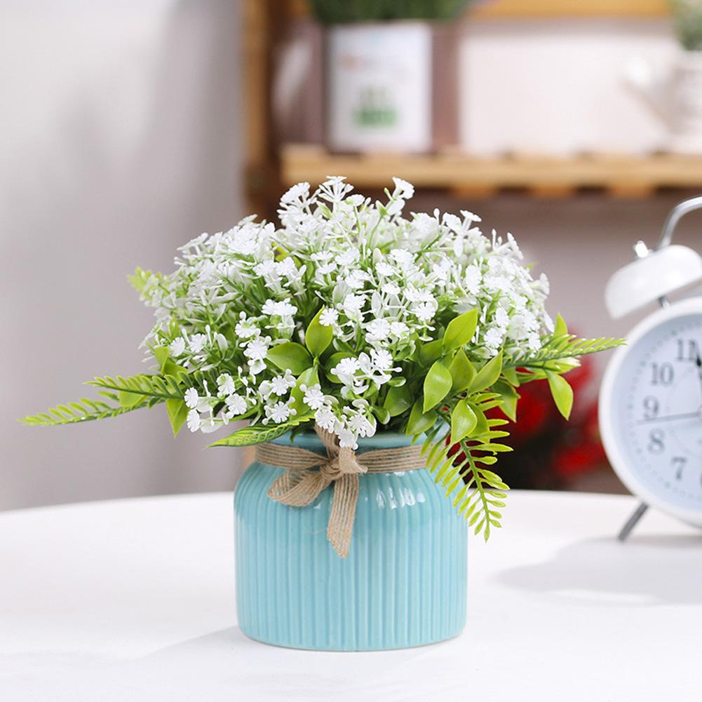 Hoa Giả Trong Nhà Hoa Giả Phòng Khách Sắp Xếp Hoa Bàn Ăn Trà Trang Trí Bàn Ăn