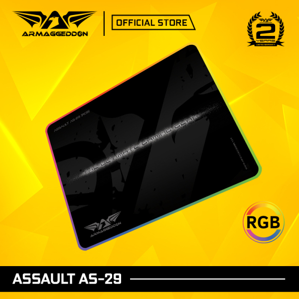 Armaggeddon Assault AS-29 RGB Gaming Mouse Pad [29 Inch]