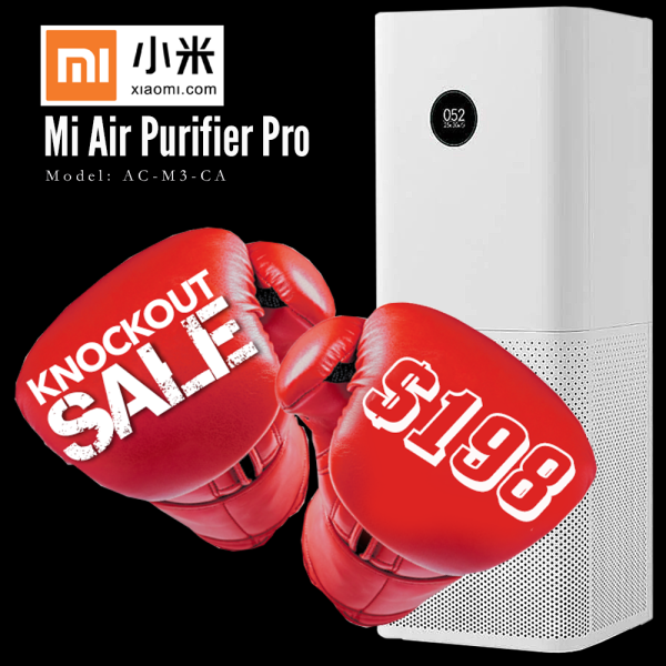 Xiaomi Mi Air Purifier Pro 100% Original and Authentic with 1 Year Warranty by Xiaomi Singapore Singapore