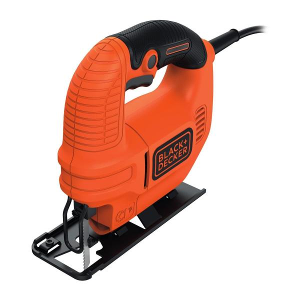 LOWEST PRICE Black & Decker Compact Jigsaw with Blade 400W KS501