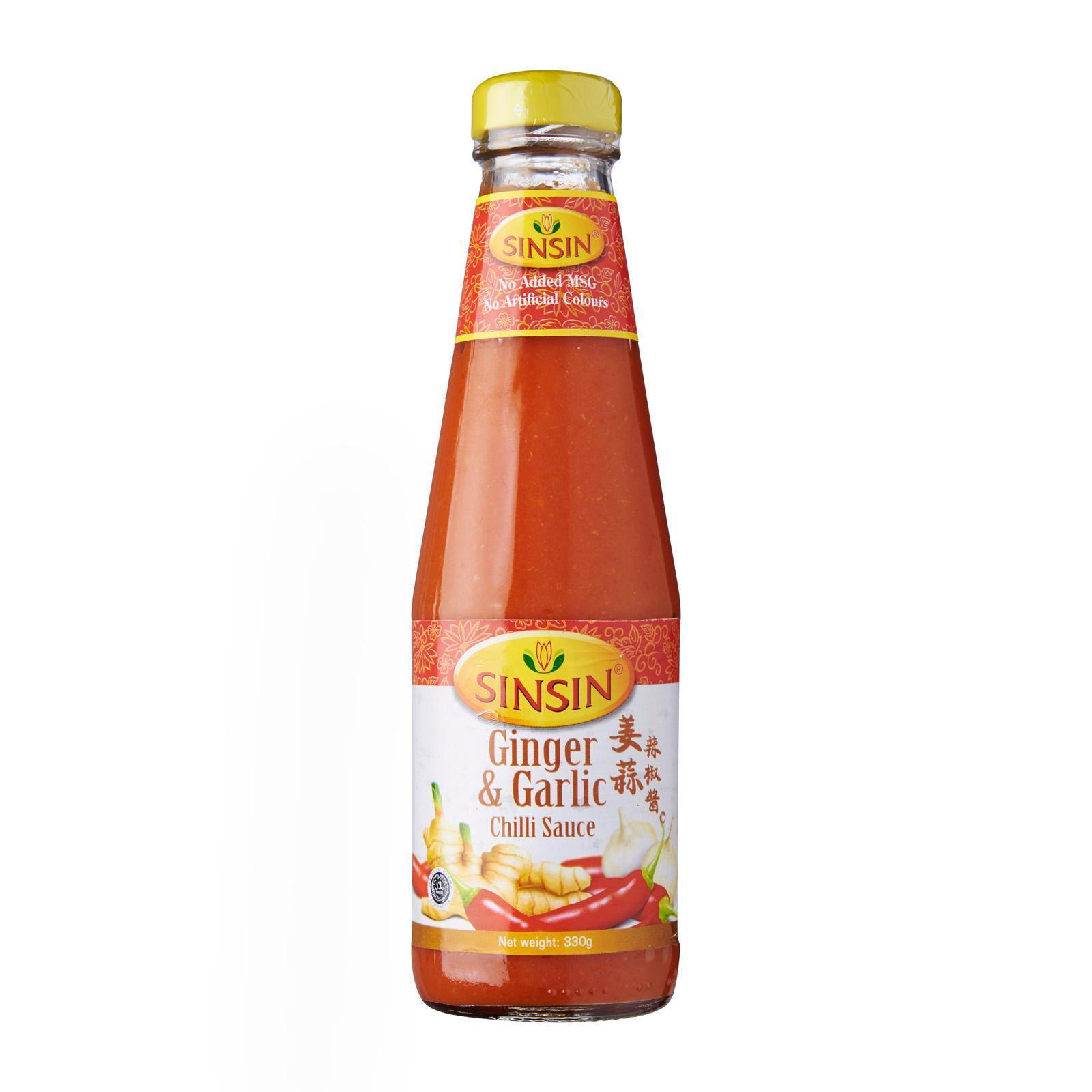 Sinsin Ginger and Garlic Chilli Sauce
