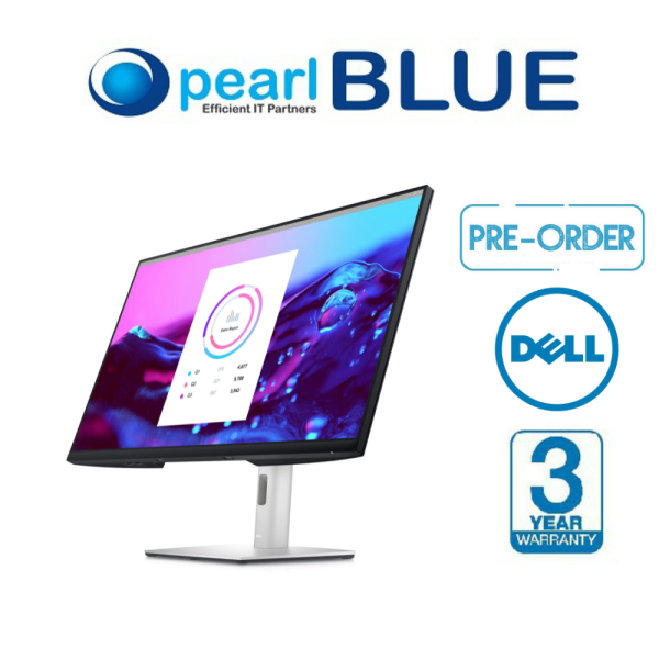 [READY STOCK] Dell 32 4K USB-C Hub Monitor - P3222QE | A better view from anywhere