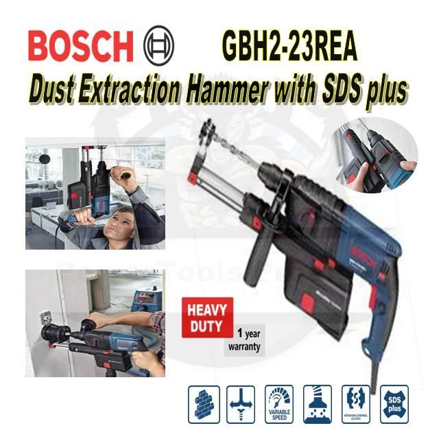 Bosch GBH 2-23 REA Rotary Hammer Drill With Dust Extractor