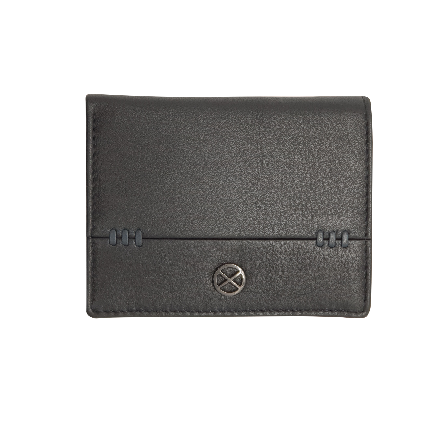 Oxhide Black Cardholder coin pouch