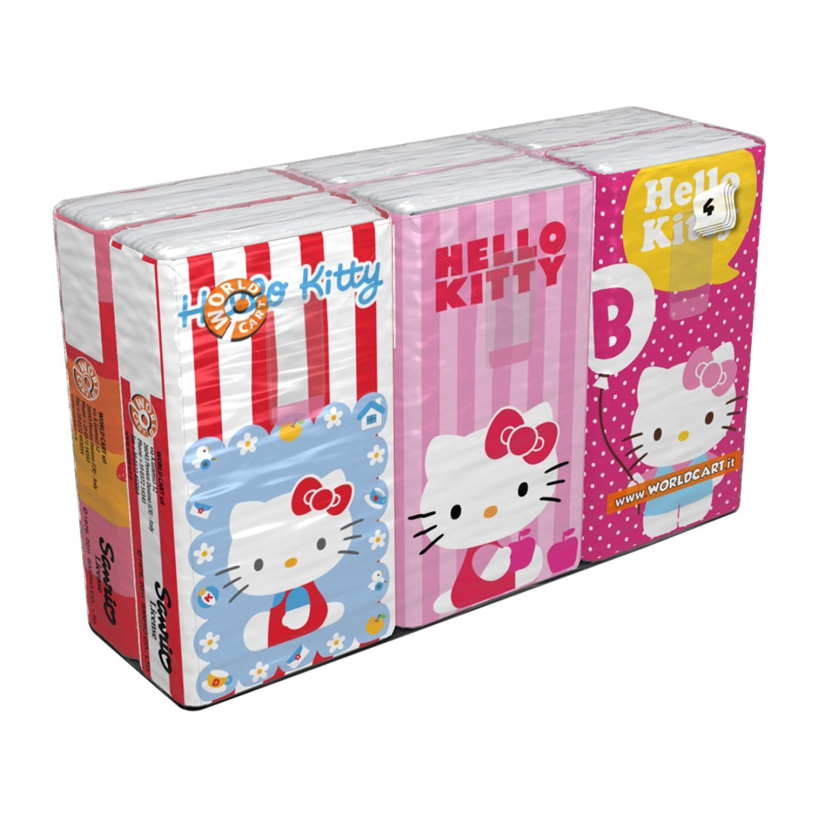 Sanrio Hello Kitty Printed Soft Tissue (Color)