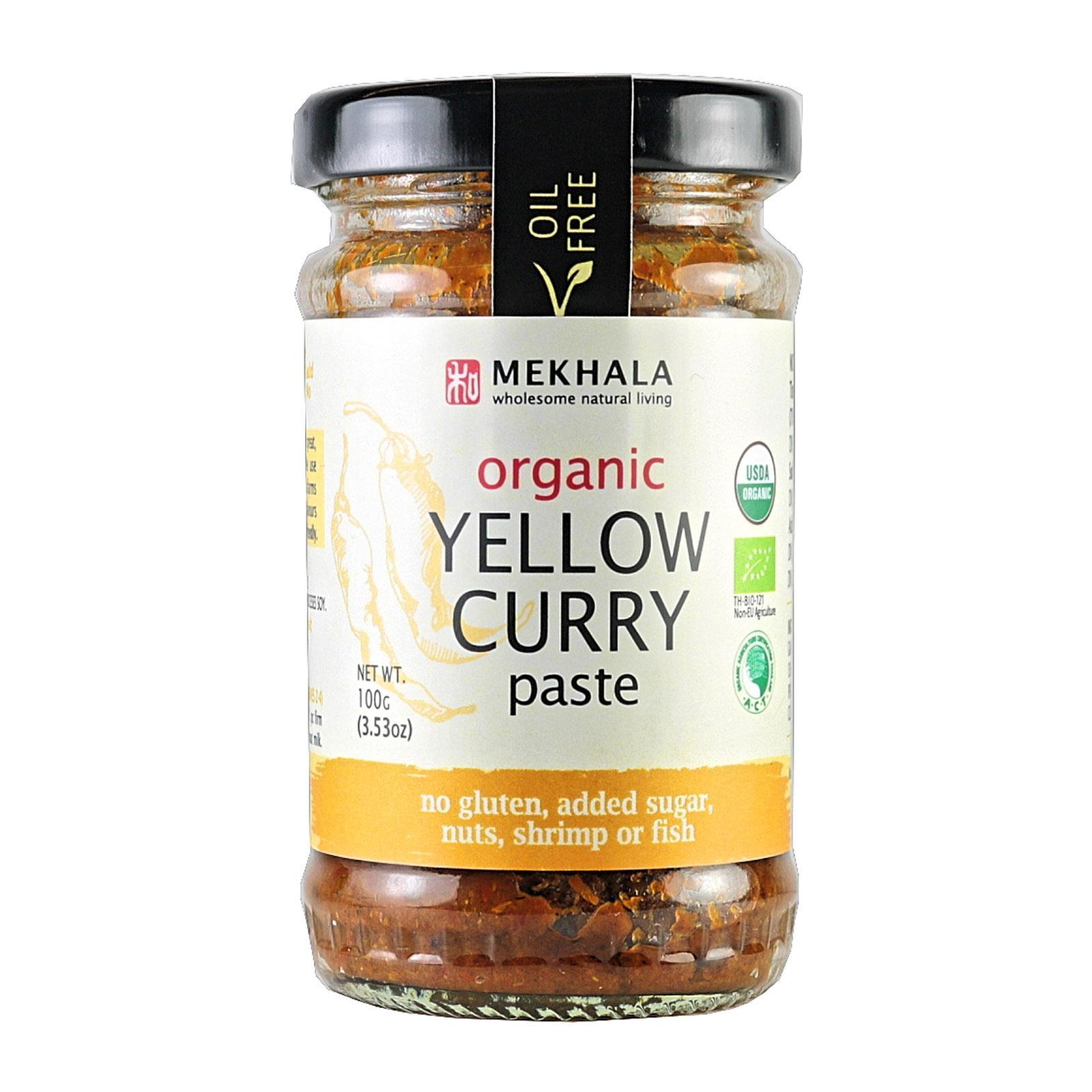 Mekhala Organic (all-Natural) Thai Yellow Curry Paste By Redmart.