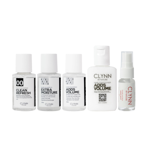 Buy Clynn by Nature MY Travel Set - Shampoo, Conditioner and Mist 165ml Singapore