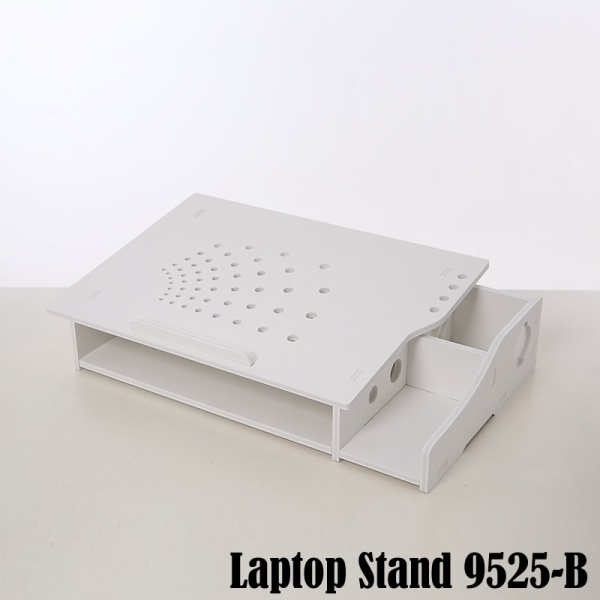 Laptop Stand Riser with Storage Compartment Model 9525 ( 2 Design)