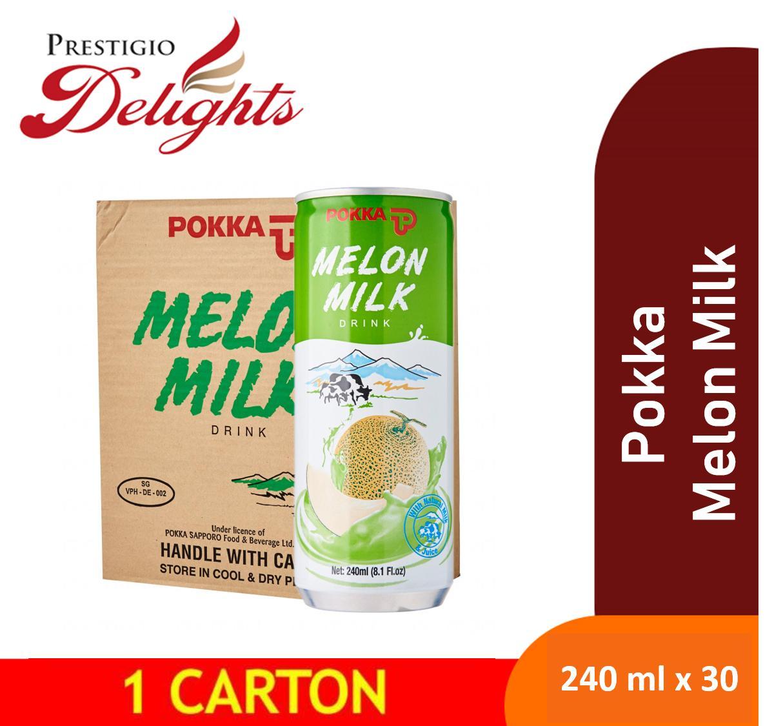 Pokka Melon Milk 30cans X 240ml Carton Sale By Prestigio Delights.