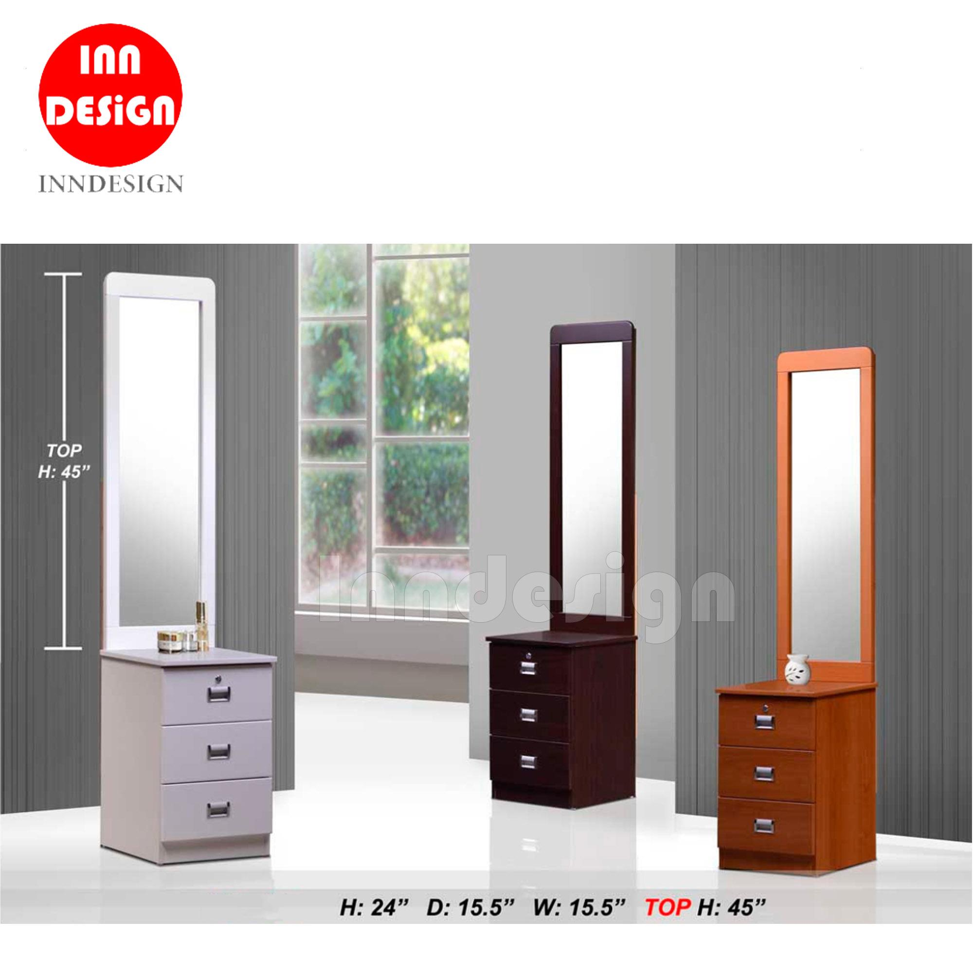 Albernt Full View Mirror Dressing Table (Free Delivery and Installation)